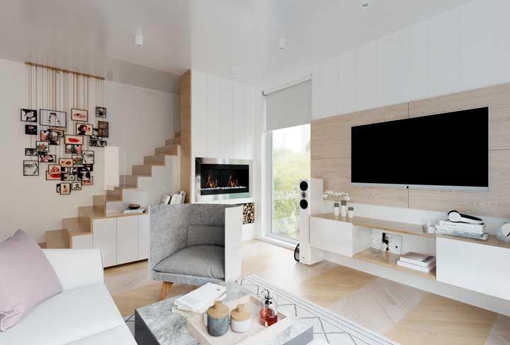 Salas de estar modernas dicas 60 fotos ideias e projetos for Interiores de salas modernas