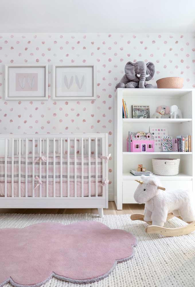 O quarto de bebê precisa ser decorado com elementos fofos e bem infantis para deixar o ambiente bem aconchegante.