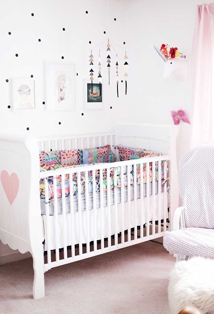 Mais uma opção de objetos que podem ser usados pendurados em cima do berço para chamar atenção do bebê.