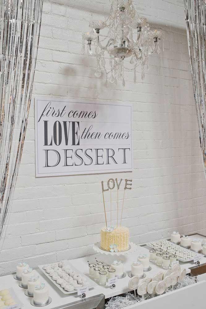 Primeiro vem o amor, depois a sobremesa; ao menos é o que diz a experiência do casal que completa 25 anos de união