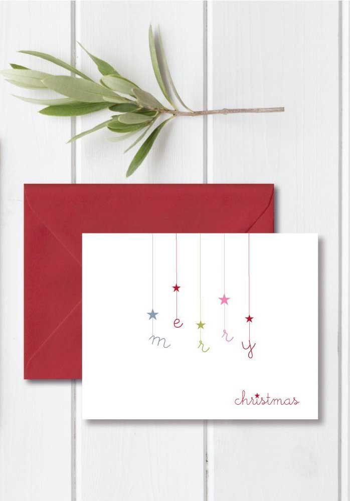 Cartão de Natal feito à mão: é bonito e ainda demonstra seu carinho e dedicação em produzi-lo