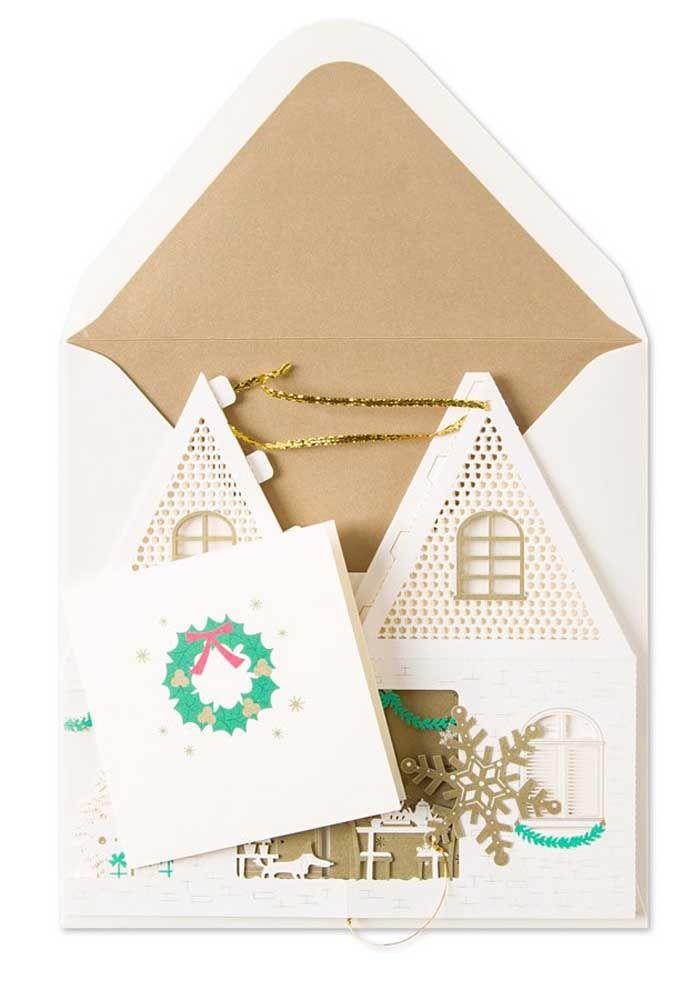 Mas se quiser fazer uma mini casa de papel, tudo bem também, vá em frente