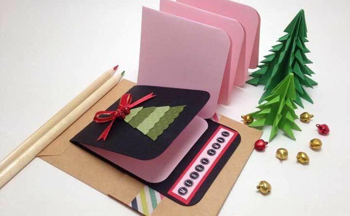 Cartão de Natal: como fazer com tutoriais e 60 inspirações