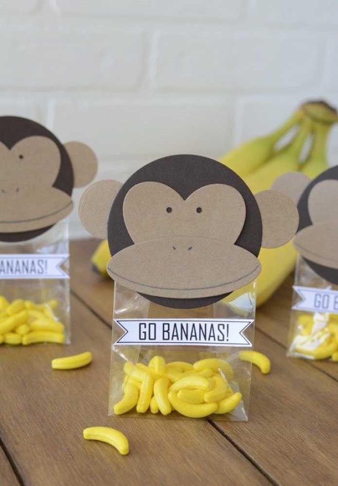 Bananas, mas essas aqui são um pouco diferentes