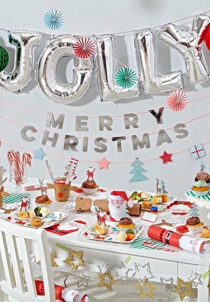 Balões! Itens indispensáveis em qualquer festa, até no Natal