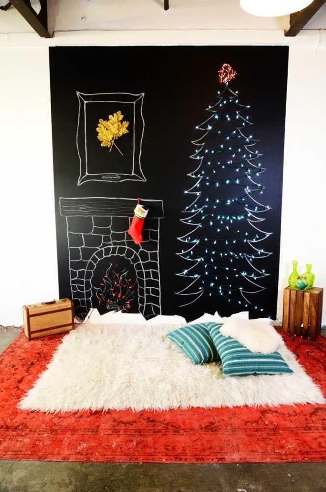 O Natal é mágico e encantado até nos traços mais simples