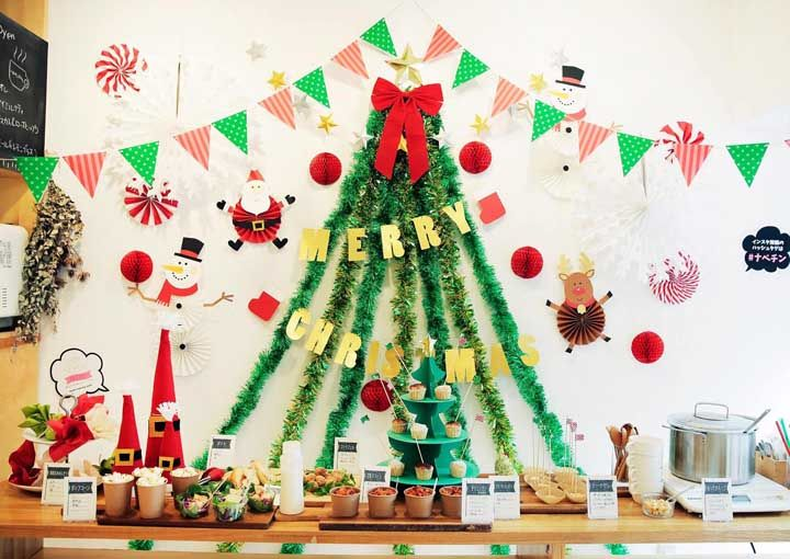 Painel de Natal: ideias criativas e passo a passo tutorial