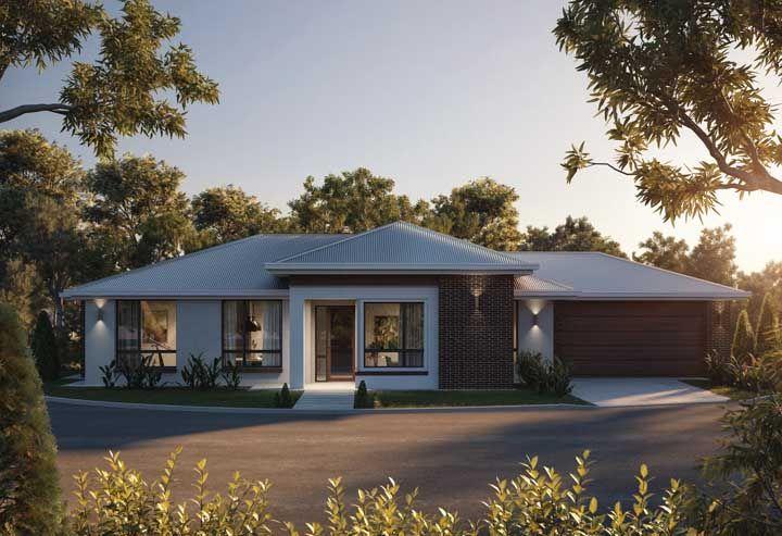 Uma frente de casa para ser admirada de fora para dentro e dentro para fora