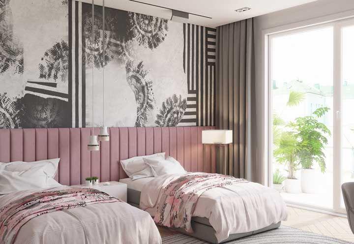 Como ser moderno usando cor de rosa: mescle a cor com o branco e o preto