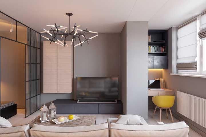 Com planejamento é possível decorar e mobiliar o menor dos apartamentos
