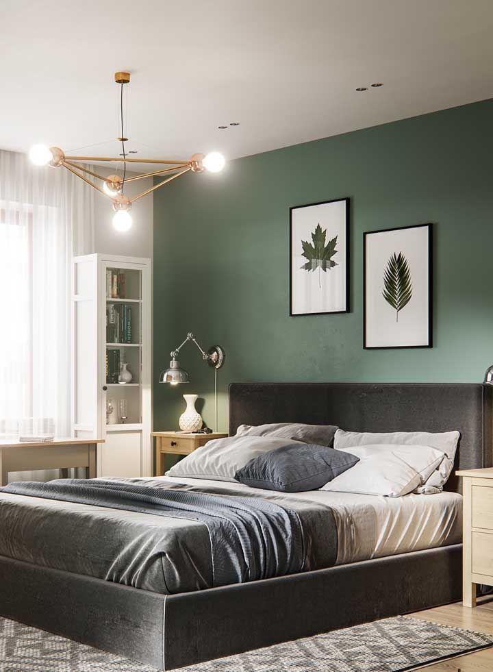 Um quarto feito para relaxar