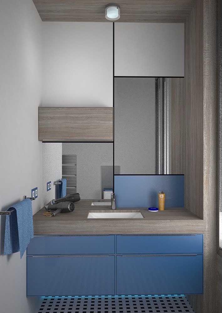 Azul: uma cor moderna e clássica ao mesmo tempo