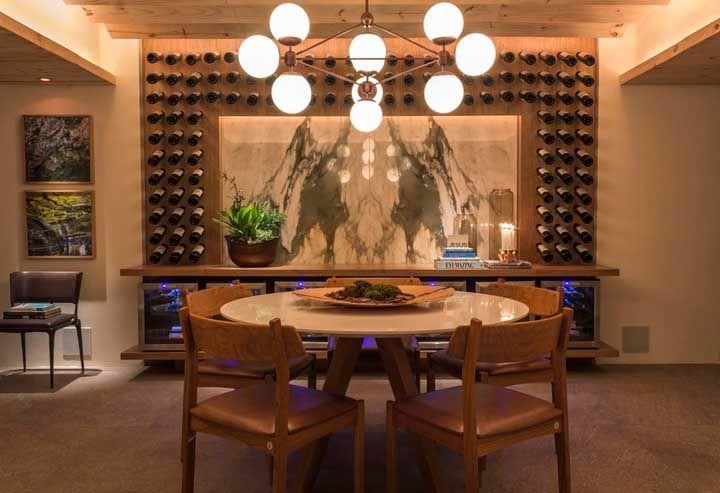 Moldura de vinhos