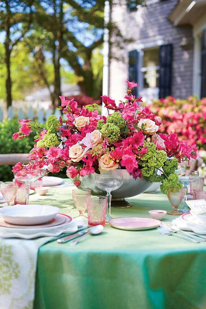 Quando bem cuidadas, as azaleias podem florescer o ano todo