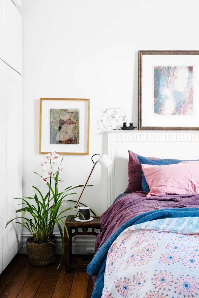 No quarto, as azaleias podem trazer um charme extra para decoração