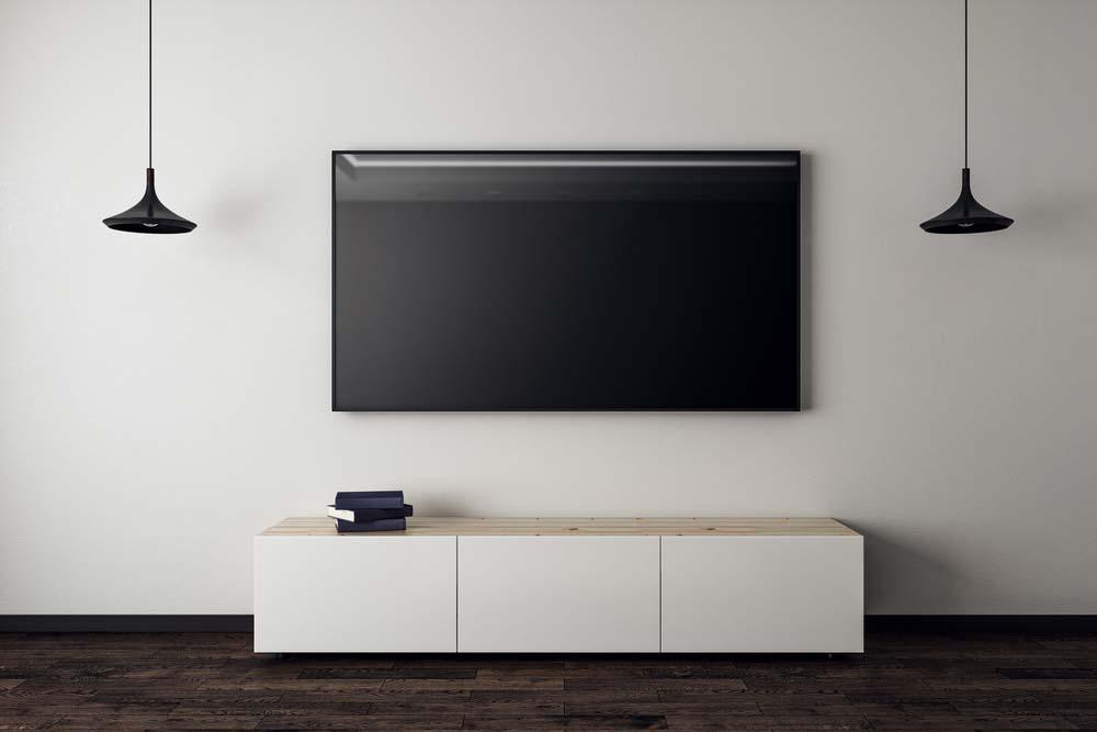 Conceito de TV na sala
