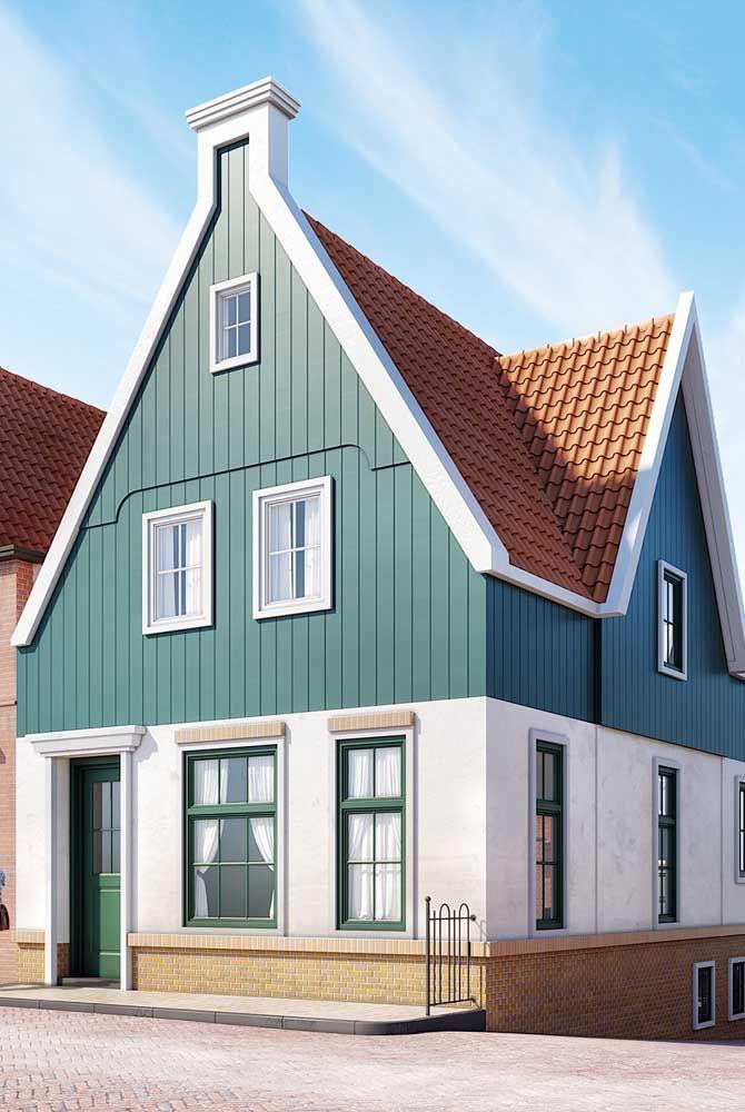 A madeira é o material preferido das casas de estilo colonial