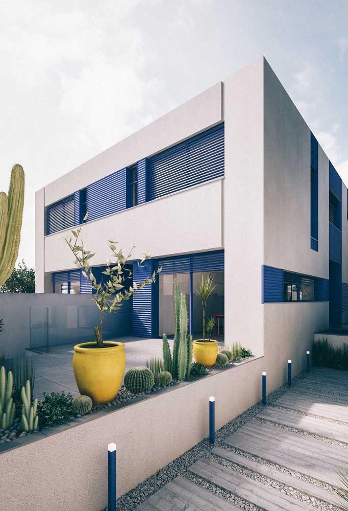 O tipo mais popular de construção, a alvenaria, permite projetos arquitetônicos variados