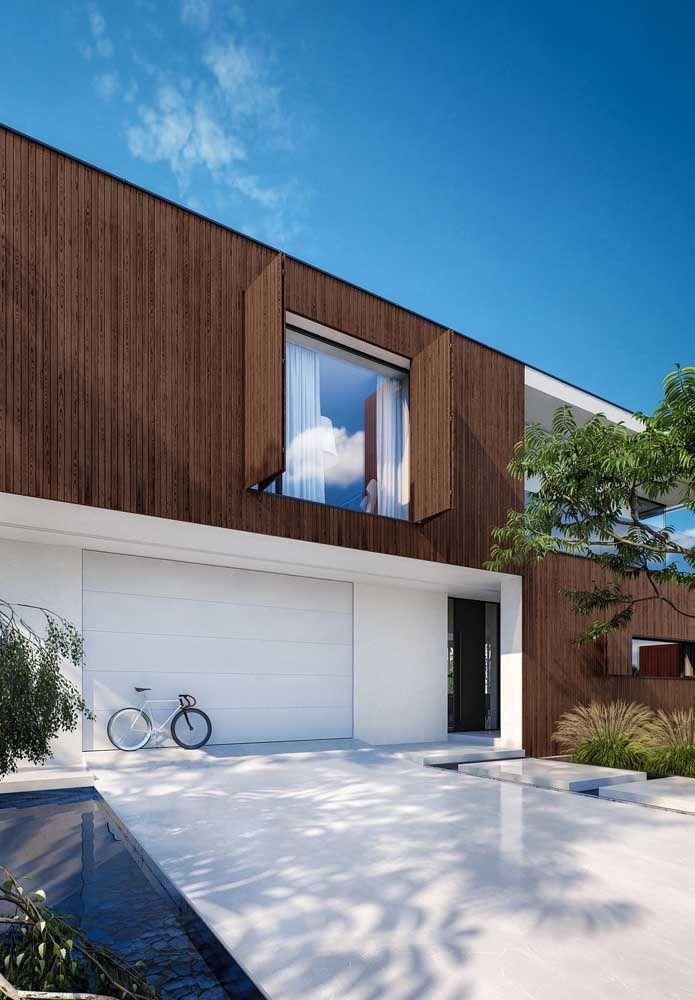Funcionalidade e estética trabalhando juntas para criar uma casa de impressionar