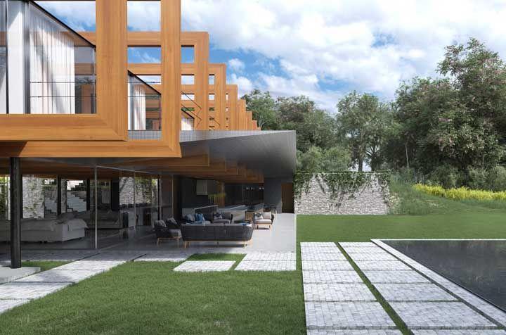 Projeto de casa linda por dentro e por fora