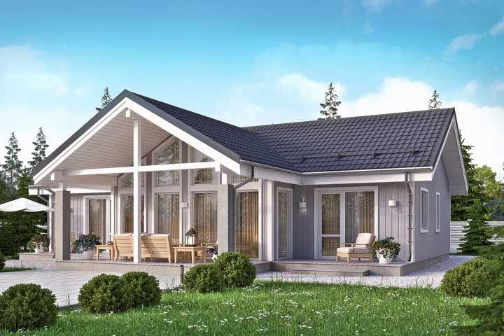 Casa de madeira dos sonhos