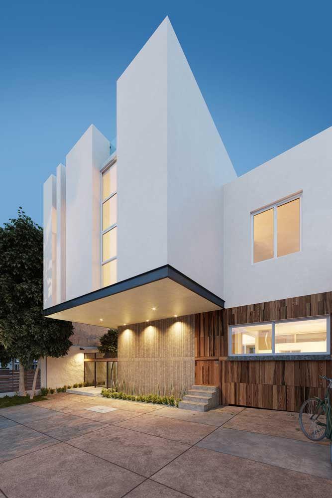 O metal reforça a proposta moderna e despojada dos projetos arquitetônicos