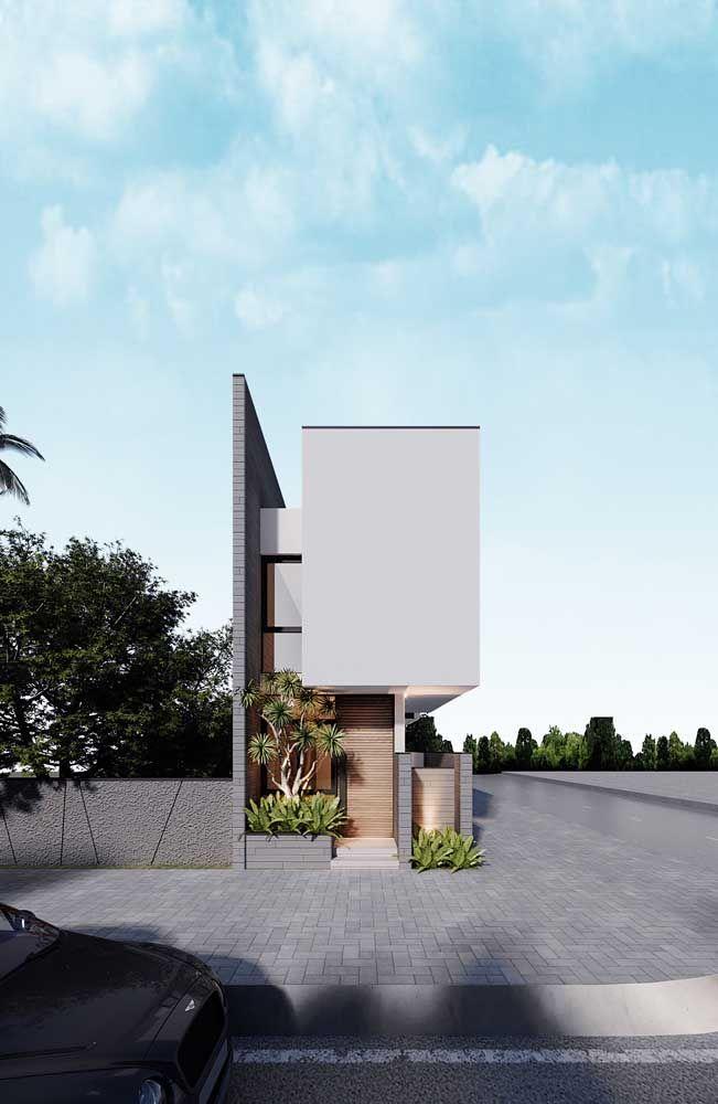 As casas pequenas tem seu charme e podem ser muito originais, quem disse que não?