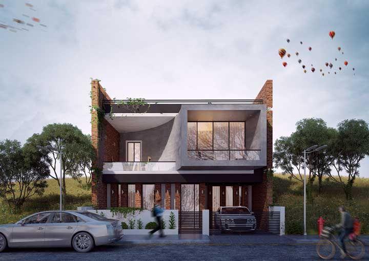 As casas planejadas permitem que você coloque em execução tudo aquilo que sempre sonhou
