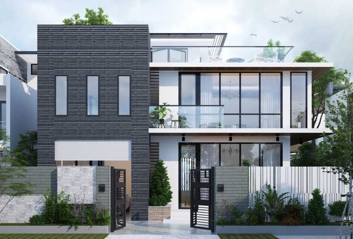 Casa planejada para atender todas as necessidades (estéticas e funcionais) dos moradores