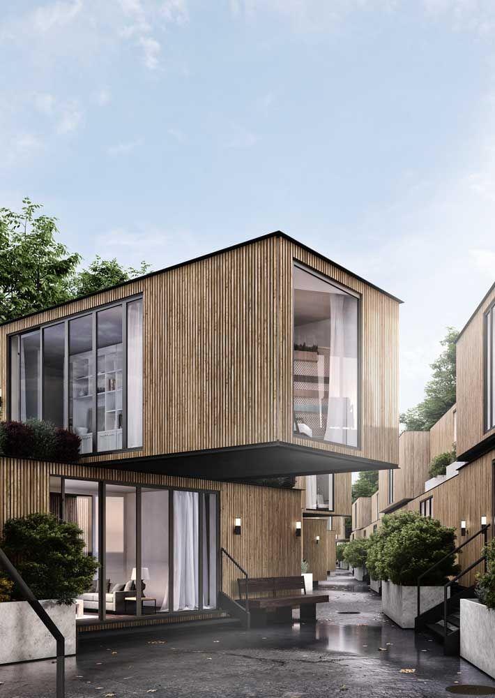A grande vantagem das casas pré-fabricadas é que elas saem mais barato do que as construídas de modo tradicional
