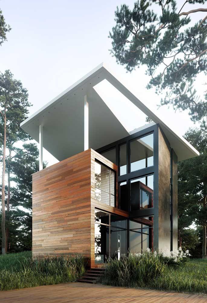 Uma casa pré-fabricada para quebrar todos os pré-conceitos