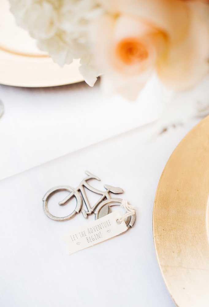 Lembrancinhas significativas são perfeitas para o casamento.