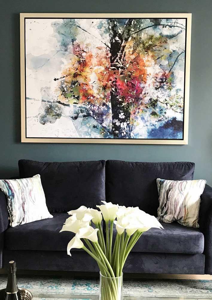 Decore a sala com as flores de lírio da paz