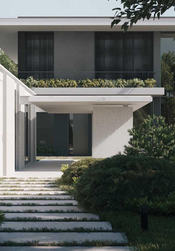 Platibanda com beiral; junção de duas estruturas para um acabamento estético e funcional perfeito