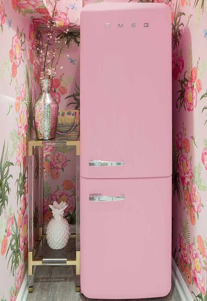 Já aqui a estampa floral se encaixa em uma proposta de estilo romântico e vintage