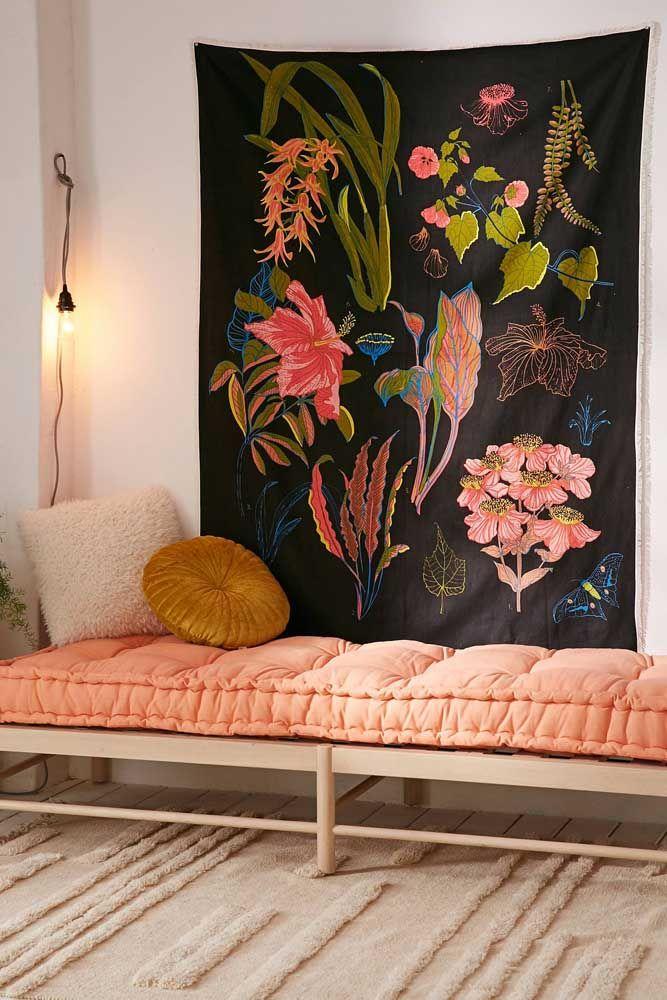 Se é uma decoração floral diferente, moderna e original que você procura, acabou de encontrar