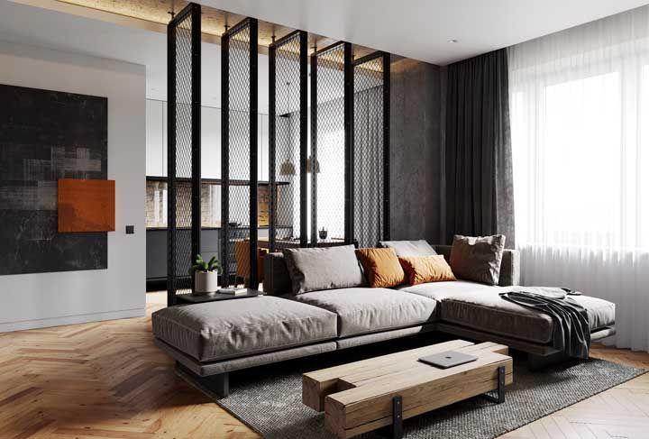 Conforto deve ser a prioridade de um sofá em L