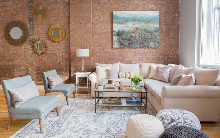 Que tal um modelo mais clássico de sofá em L?