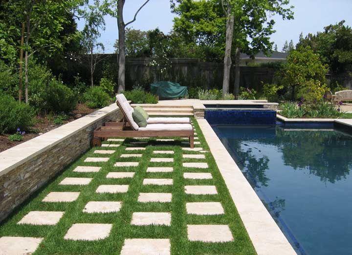 O que um concregrama pode fazer pelo visual da sua piscina? Olha aí!
