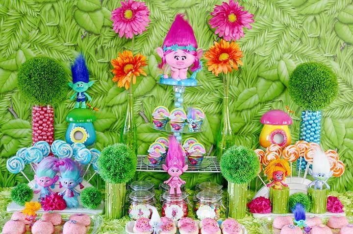 Festa Trolls: saiba como organizar e decorar com esse tema