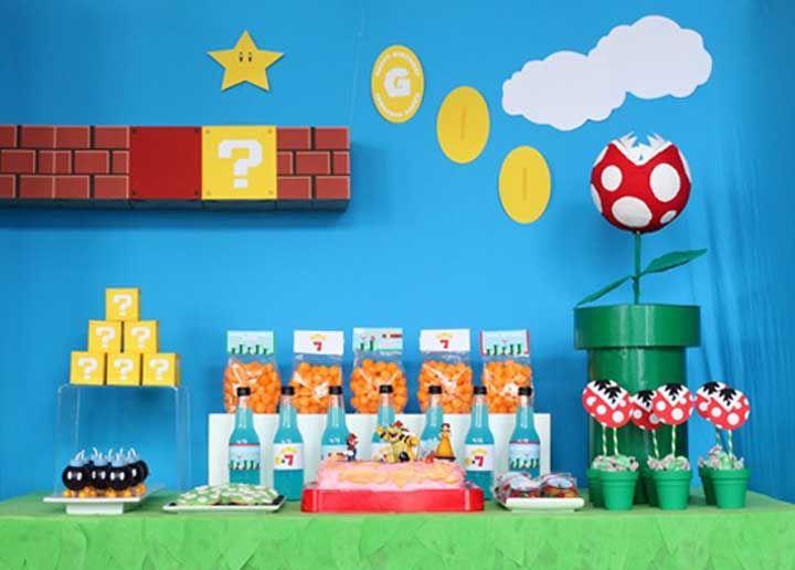 Festa Mario Bros: veja como organizar e decorar com dicas e fotos