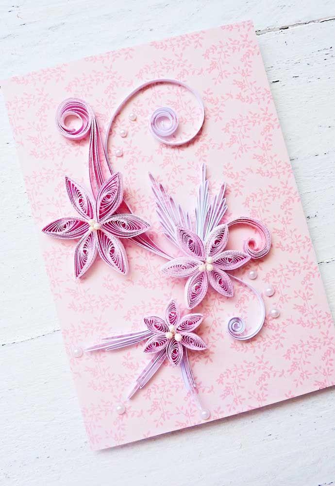 Flores e arabescos: uma combinação que sempre dá certo com o quilling