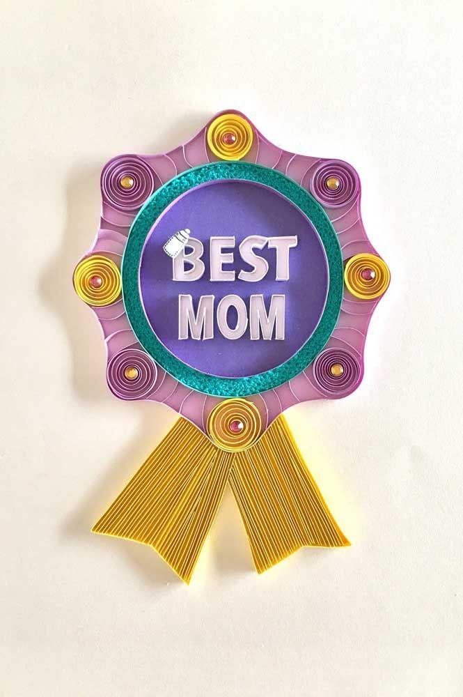 Prêmios e medalhas inspirados na técnica quilling