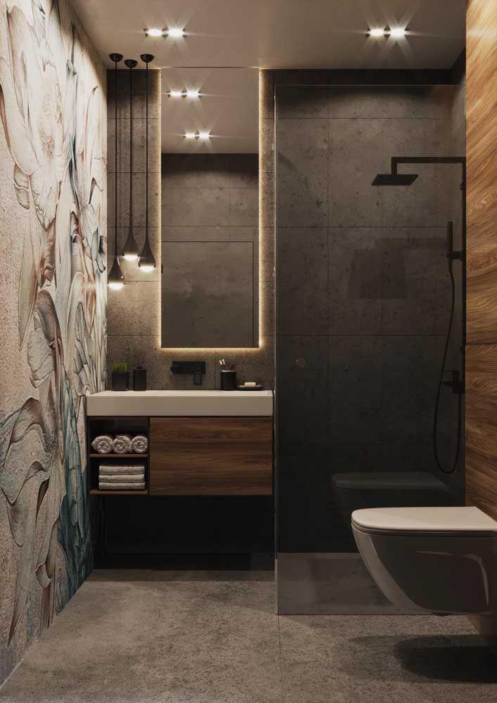 Não dá para negar o charme que um nicho traz para o banheiro, não é mesmo?