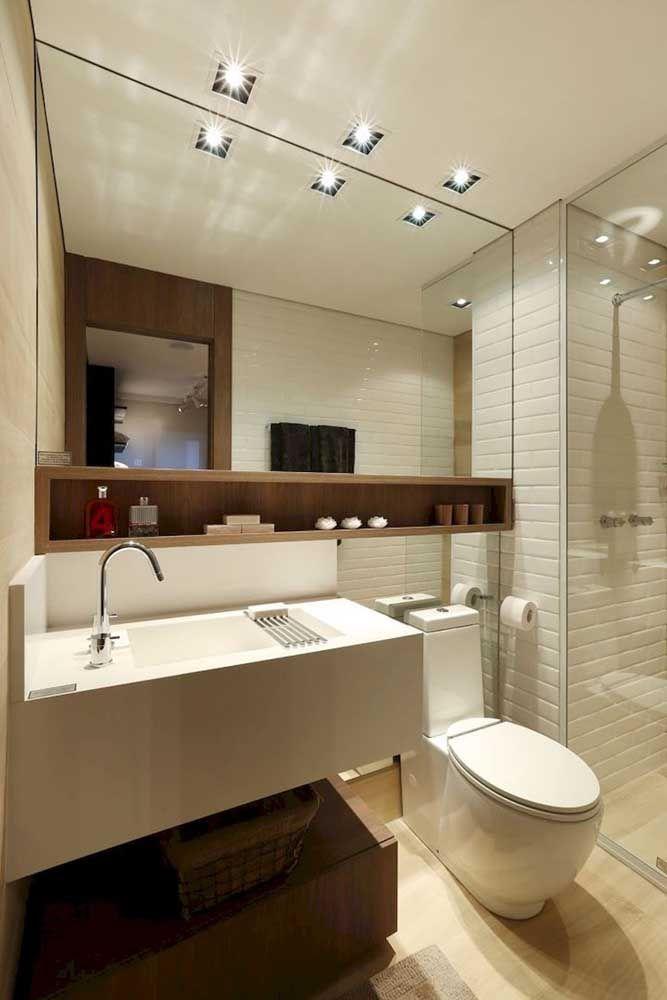 Nicho Para Banheiro O Que é Como Escolher E 65 Modelos Cfotos