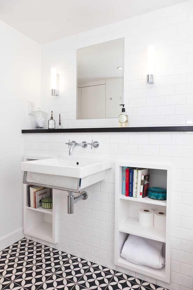Pra quê armários? Use nichos no lugar deles, mais barato, prático e pode ser feito por você mesmo