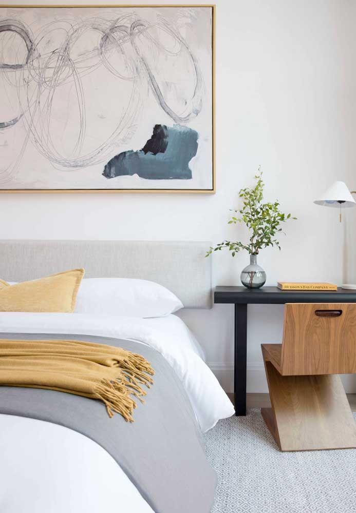O quadro deve acompanhar a decoração, mas, sobretudo, refletir o gosto e estilo dos moradores