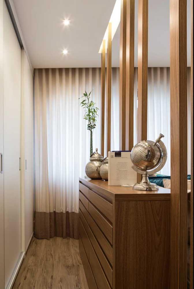 Ambientes decorados com madeira e fibras naturais casam perfeitamente com o bambu da sorte