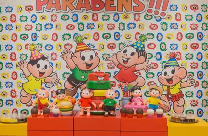 Festa Turma da Mônica: como organizar, cores, dicas e personagens