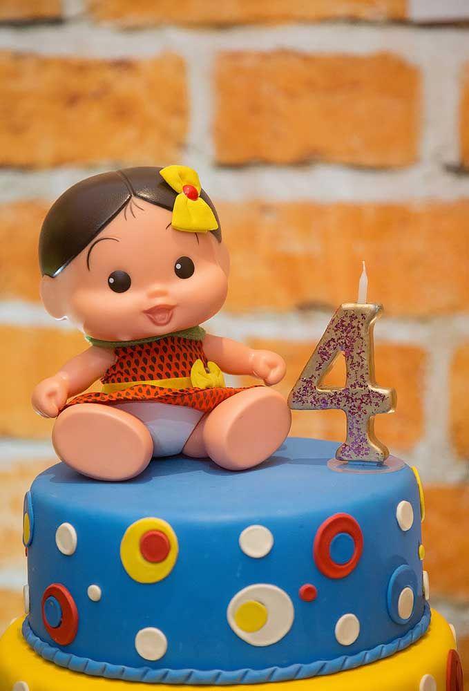 Para os pequenos aniversariantes, nada mais indicado do que fazer a decoração da Turma da Mônica Baby.